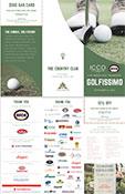 Golfissimo 2018 flyer