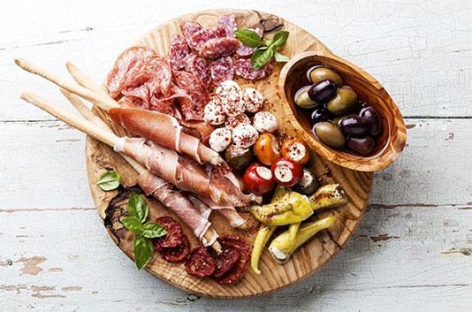 Tasting Corner at Coppa's Fresh Market